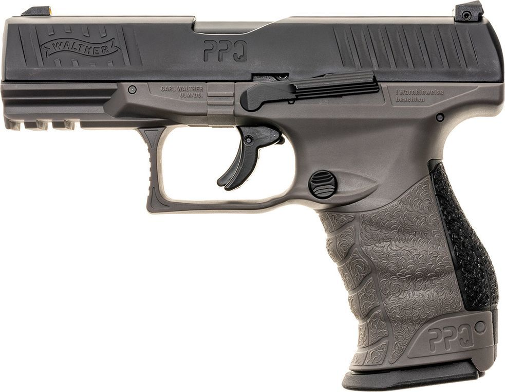 Walther PISTOLET RAM UMAREX WALTHER PPQ M2 T4E KAL.43 TUNGSTEN GRAY 1