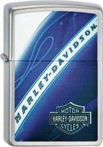 Zippo Zapalniczka motyw Harley Davidson niebieska 1