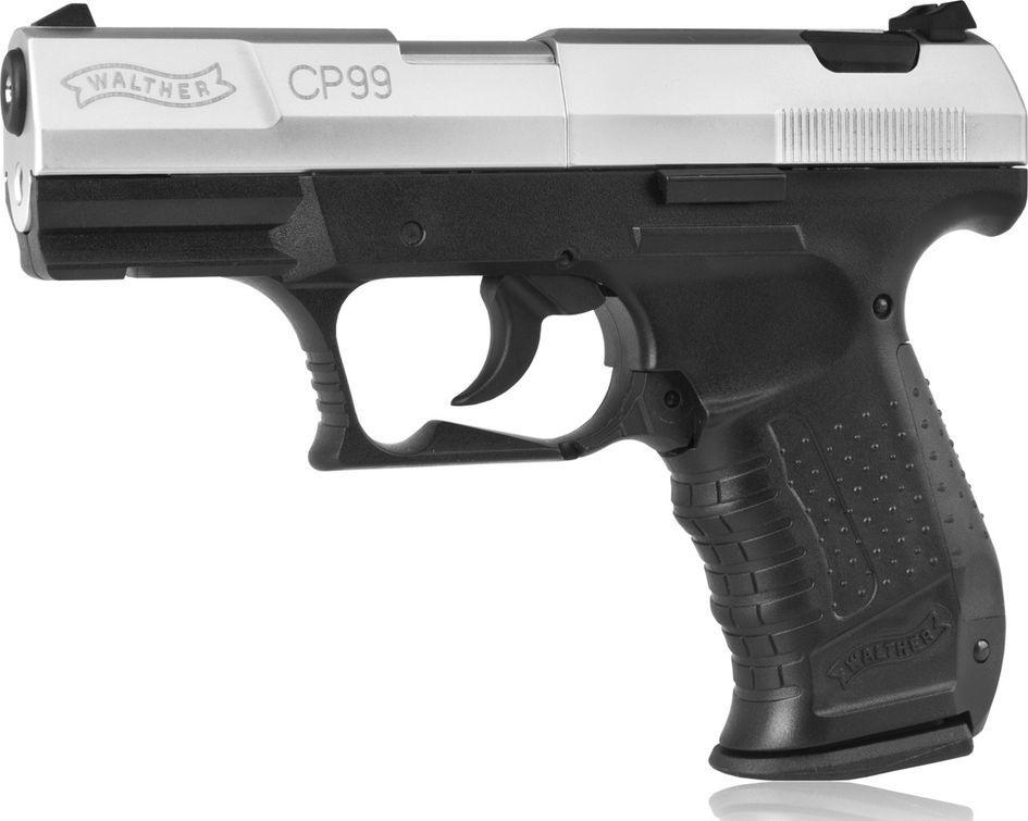 Walther wiatrówka - pistolet WALTHER CP99 nikiel 1