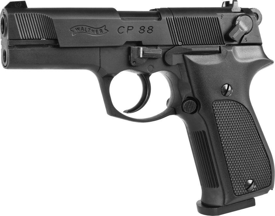 Walther wiatrówka - pistolet WALTHER CP88 1