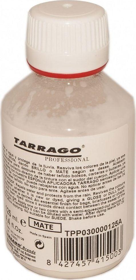 Tarrago Lakier wykończeniowy do skór MAT - 125ml TARRAGO 1