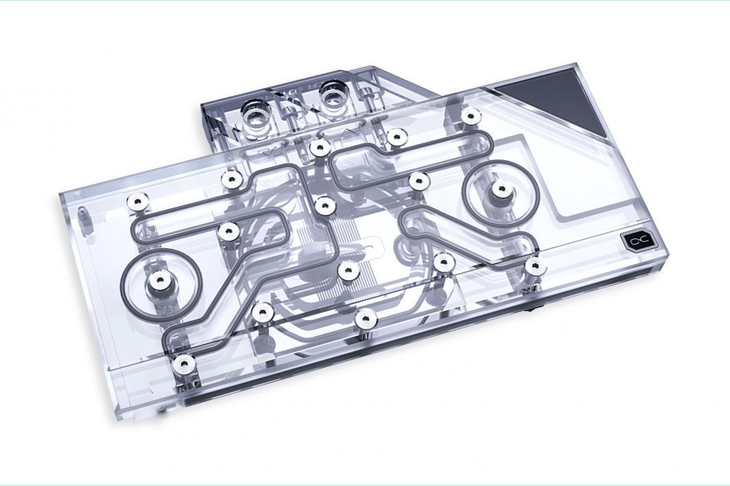 Alphacool Chłodzenie wodne karty graficznej Eisblock Aurora Plexi GPX-N RTX 3090/3080  1