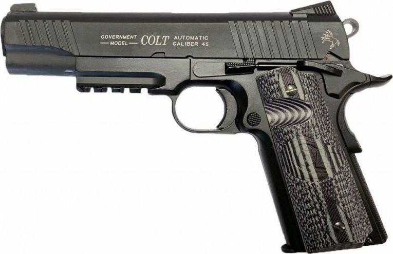 Cybergun Pistolet 6mm Cybergun Colt Combat Unit 1