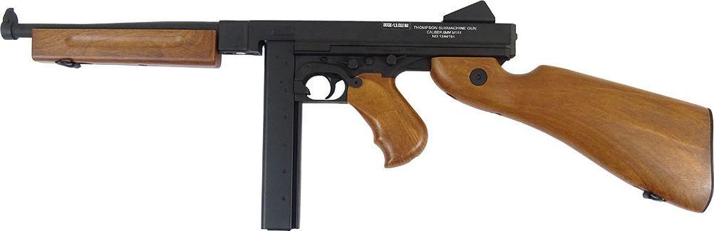 Cybergun Karabin 6mm Cybergun THOMPSON military AEG SET Ful 1