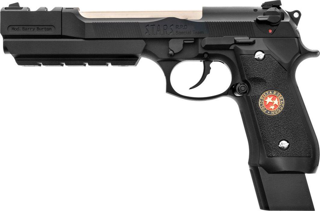 Cybergun Pistolet 6mm Cybergun M92 Biohazard w/compensator 1