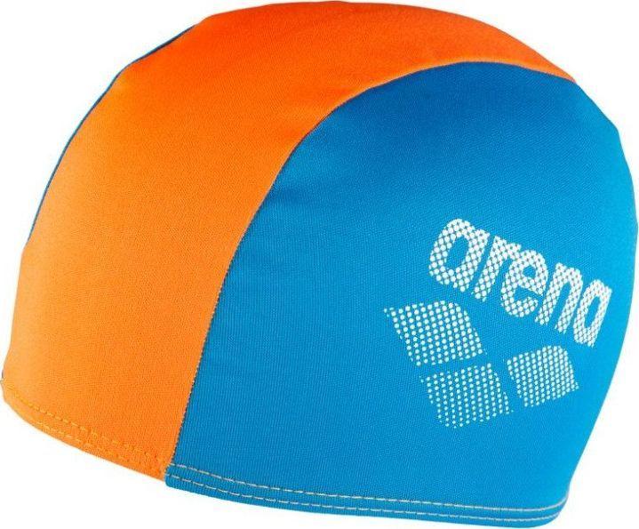 Arena ARENA CZEPEK PŁYWACKI POLYESTER II JR 002468/730 BLUE/ORANGE 1