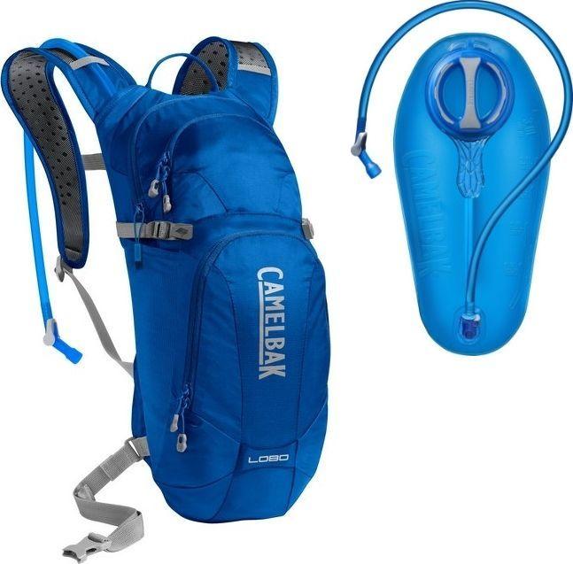 CamelBak CAMELBAK PLECAK ROWEROWY LOBO 1118406000 LAPIS BLUE/SILVER 9L + BUKŁAK 3L 1