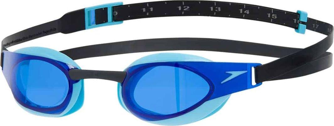 Speedo SPEEDO OKULARY PŁYWACKIE 8-08211C710 FASTSKIN ELITE BLACK/BLUE 1
