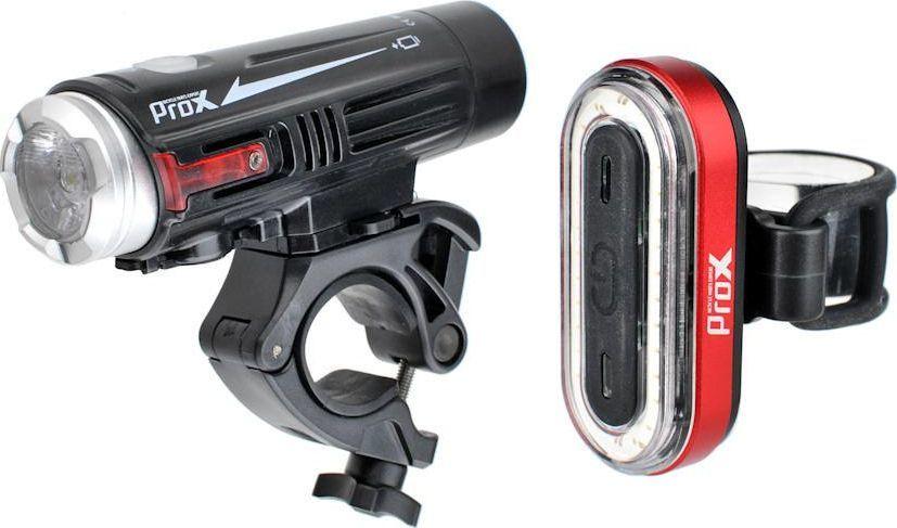 PROX PROX ZESTAW LAMP CRATER SET 880lm + IRIS 50lm 1