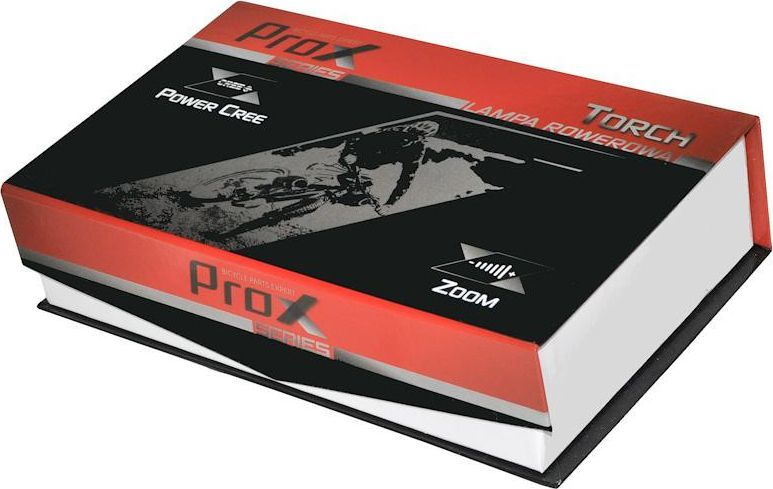 PROX PROX LAMPA ROWEROWA PRZEDNIA TORCH 500lm 1