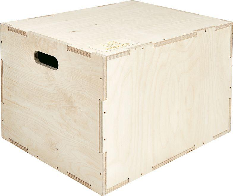 MOVO Skrzynia Plyometryczna 40x50x60cm Crossfit Jump Box 1
