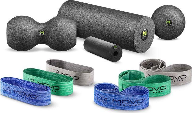 MOVO Roller Zestaw treningowy 10 sztuk Wałek Taśma EPP 1