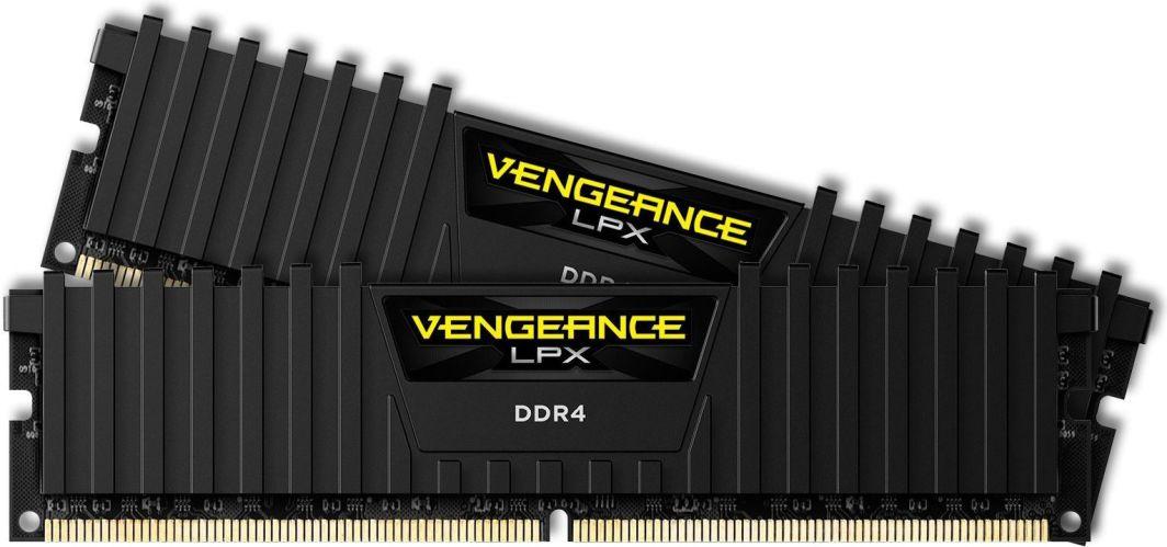 Pamięć Corsair Vengeance LPX, DDR4, 32 GB, 3200MHz, CL16 (CMK32GX4M2B3200C16) 1