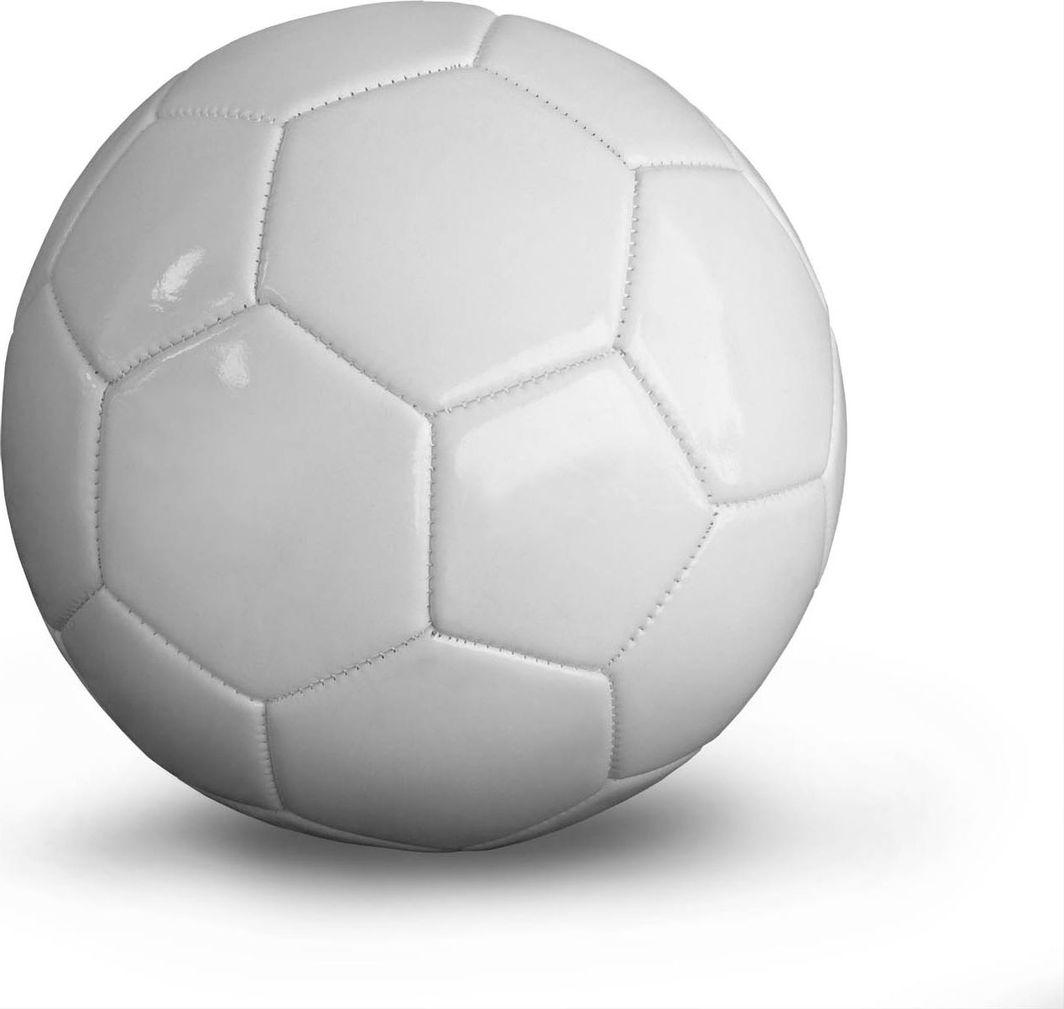 YAKIMASPORT Piłka do piłki nożnej biała r. 5 1