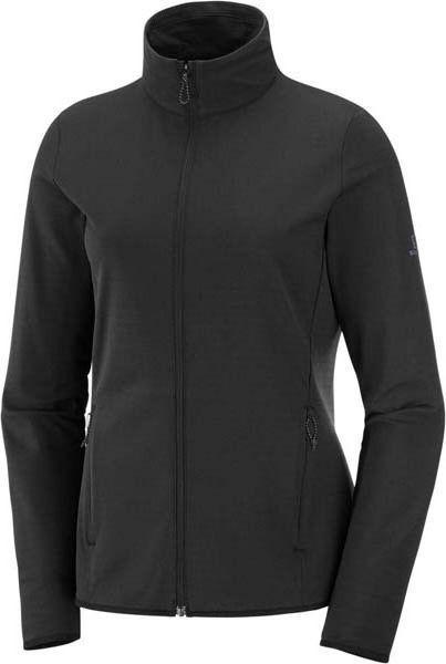 Salomon Bluza damska Outrack Full Zip Mid W Black r. L (LC1358200) 1