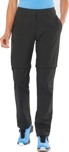 Salomon Spodnie damskie Wayfarer Zip Off Pant W Black r. 38 (LC1489900) 1
