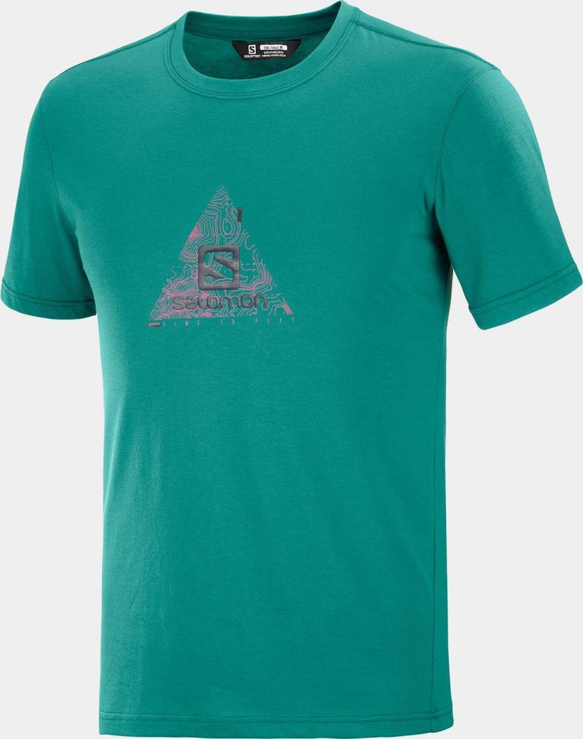 Salomon Koszulka męska Explore Blend Tee M Pacific r. XL 1