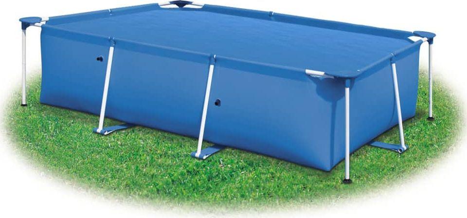 vidaXL Prostokątna pokrywa na basen, 500 x 300 cm, PE, niebieska 1