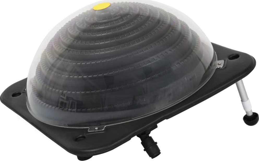 vidaXL Solarny podgrzewacz basenowy, 75x75x36 cm, HDPE, aluminium 1