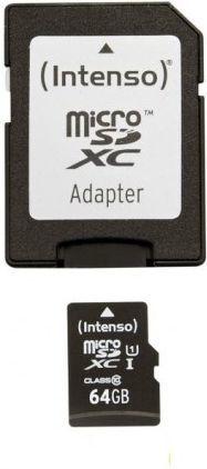 Karta Intenso MicroSDXC 64 GB Class 10 UHS-I/U1  (3423490) 1