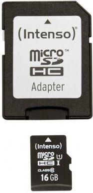 Karta Intenso MicroSDHC 16 GB Class 10 UHS-I/U1  (3423470) 1