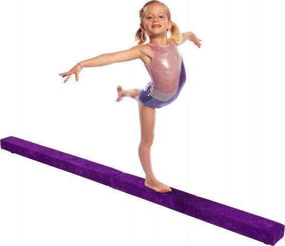 Costway Belka gimnastyczna do ćwiczeń gimnastycznych 1