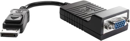 Adapter AV HP DisplayPort - D-Sub (VGA) czarny (F7W97AA) 1