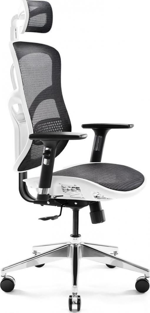 Fotel Diablo Chairs V-Basic Biało-czarny 1