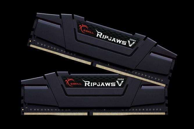 Pamięć G.Skill Ripjaws V, DDR4, 32 GB, 3200MHz, CL16 (F4-3200C16D-32GVK) 1
