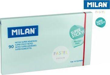 Milan Karteczki samoprzylepne 127x76/90K niebieskie 1