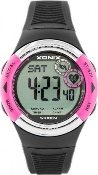 Zegarek Xonix ZEGAREK MĘSKI XONIX HRM3-005 - PULSOMETR I KROKOMIERZ (zk044f) 1