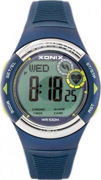 Zegarek Xonix ZEGAREK MĘSKI XONIX HRM3-004 - PULSOMETR I KROKOMIERZ (zk044a) 1