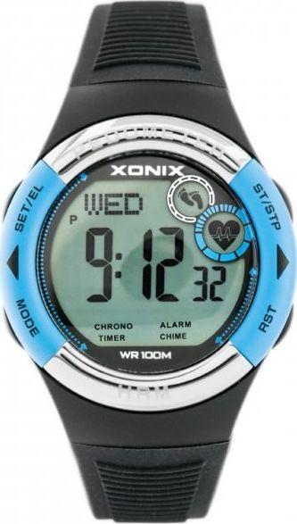 Zegarek Xonix ZEGAREK MĘSKI XONIX HRM3-006 - PULSOMETR I KROKOMIERZ (zk044b) 1