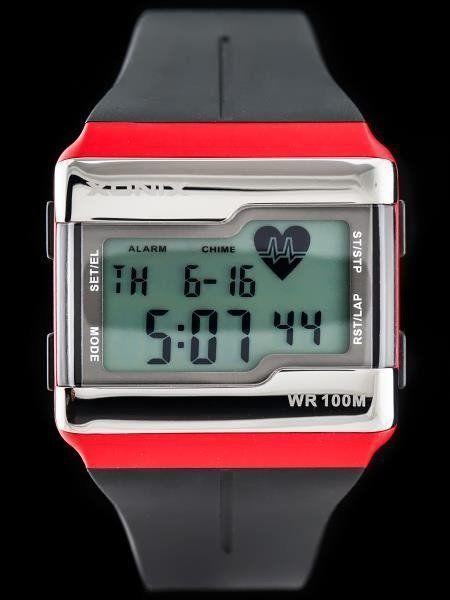 Zegarek Xonix ZEGAREK MĘSKI XONIX HRM1-002 - PULSOMETR (zk038c) 1