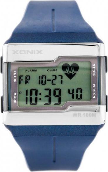 Zegarek Xonix ZEGAREK MĘSKI XONIX HRM1-005 - PULSOMETR (zk038e) 1