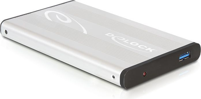 "Kieszeń Delock 2.5"", Srebrny, USB 3.0 (42486) 1"