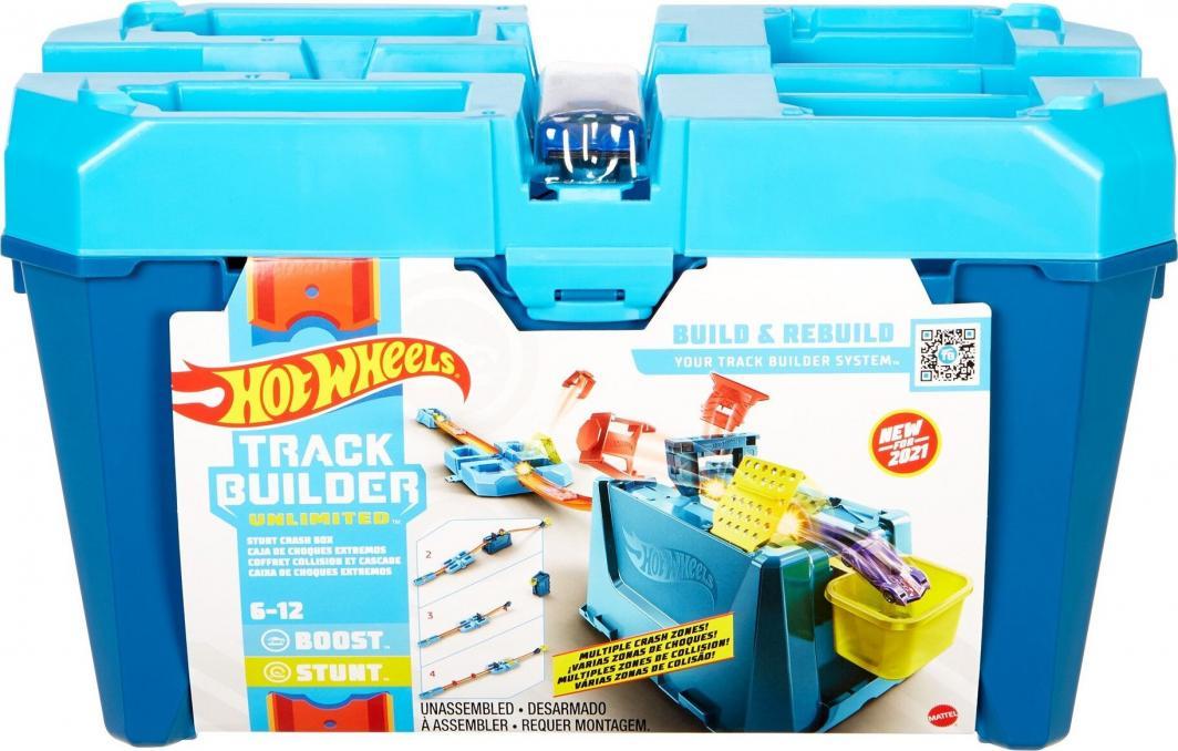 Mattel Hot Wheels zestaw w pudełku Kaskaderskie kraksy (GVG09) 1