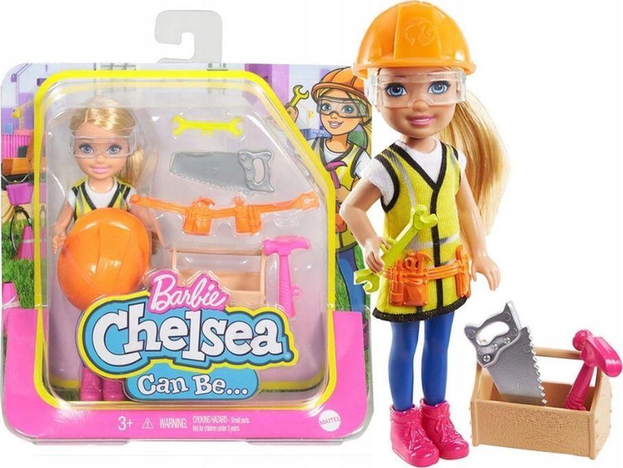 Barbie Barbie Lalka Chelsea majsterkowiczka (GTN87) 1