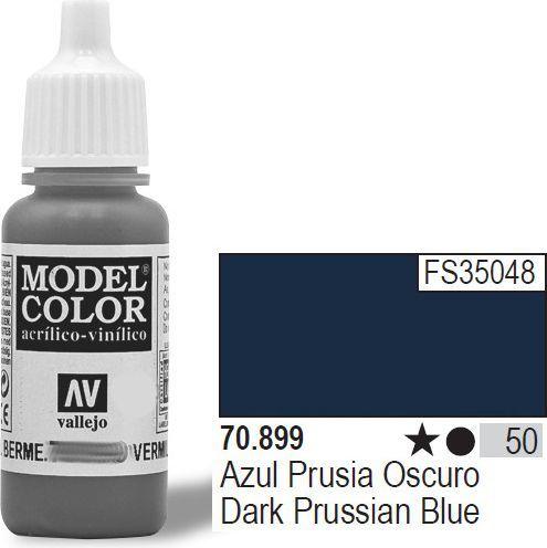 Vallejo Farba Nr50 Dark Prus. Blue 17ml - 70899 1