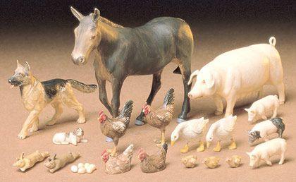 Tamiya Livestock Set 35128 1
