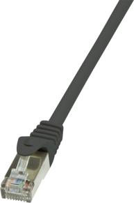 LogiLink Patchcord, CAT5e, SF/UTP, 0.5m, czarny (CP1023D) 1