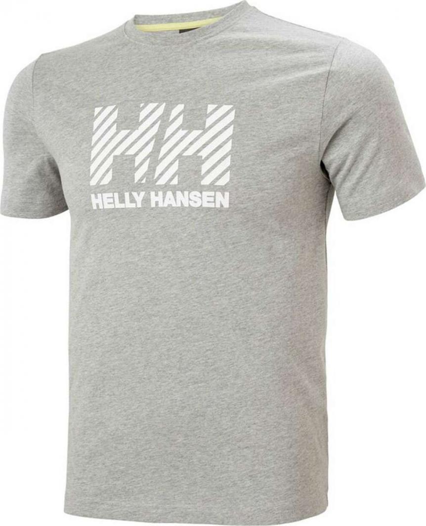 Helly Hansen Koszulka męska Active T-shirt Grey Melange r. XL (53428_949-XL) 1