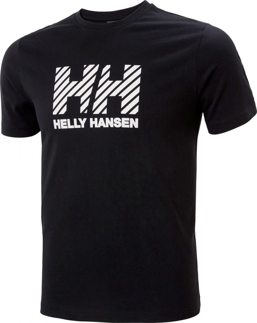 Helly Hansen Koszulka męska Active T-shirt Black r. L (53428_990-L) 1