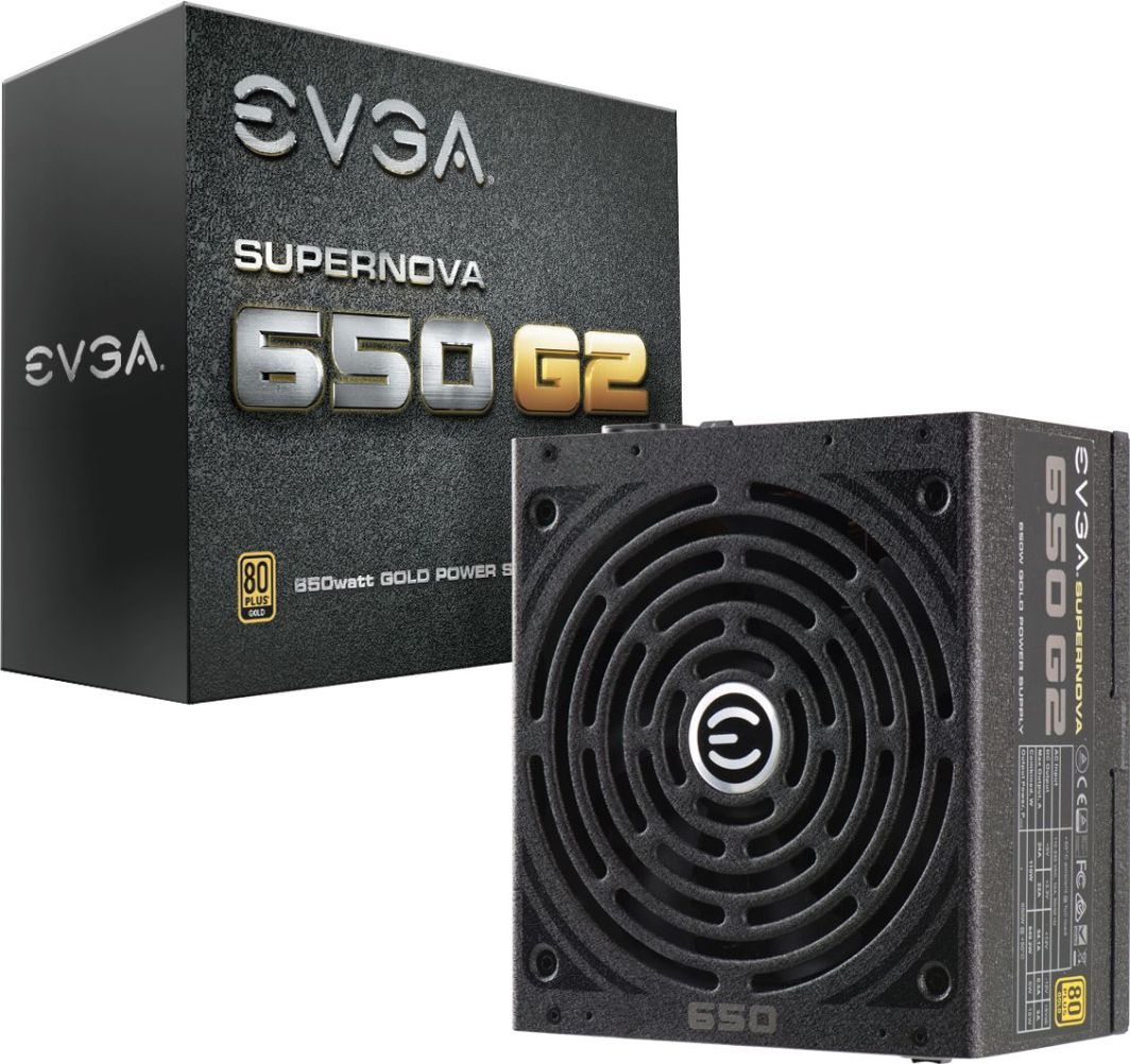Zasilacz EVGA SuperNOVA 650 G2 650W (220-G2-0650-Y2) 1