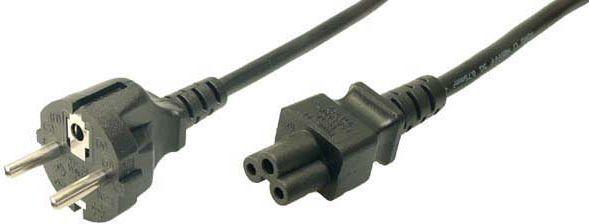 Kabel zasilający LogiLink Schuko - C5, 1.80m (CP093) 1