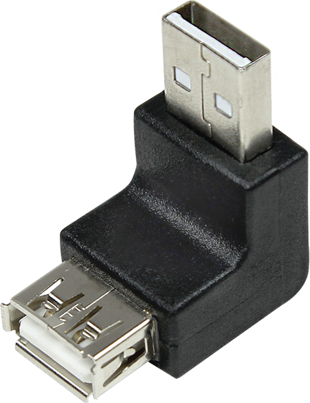 Adapter USB LogiLink USB - USB Czarny (AU0025) 1