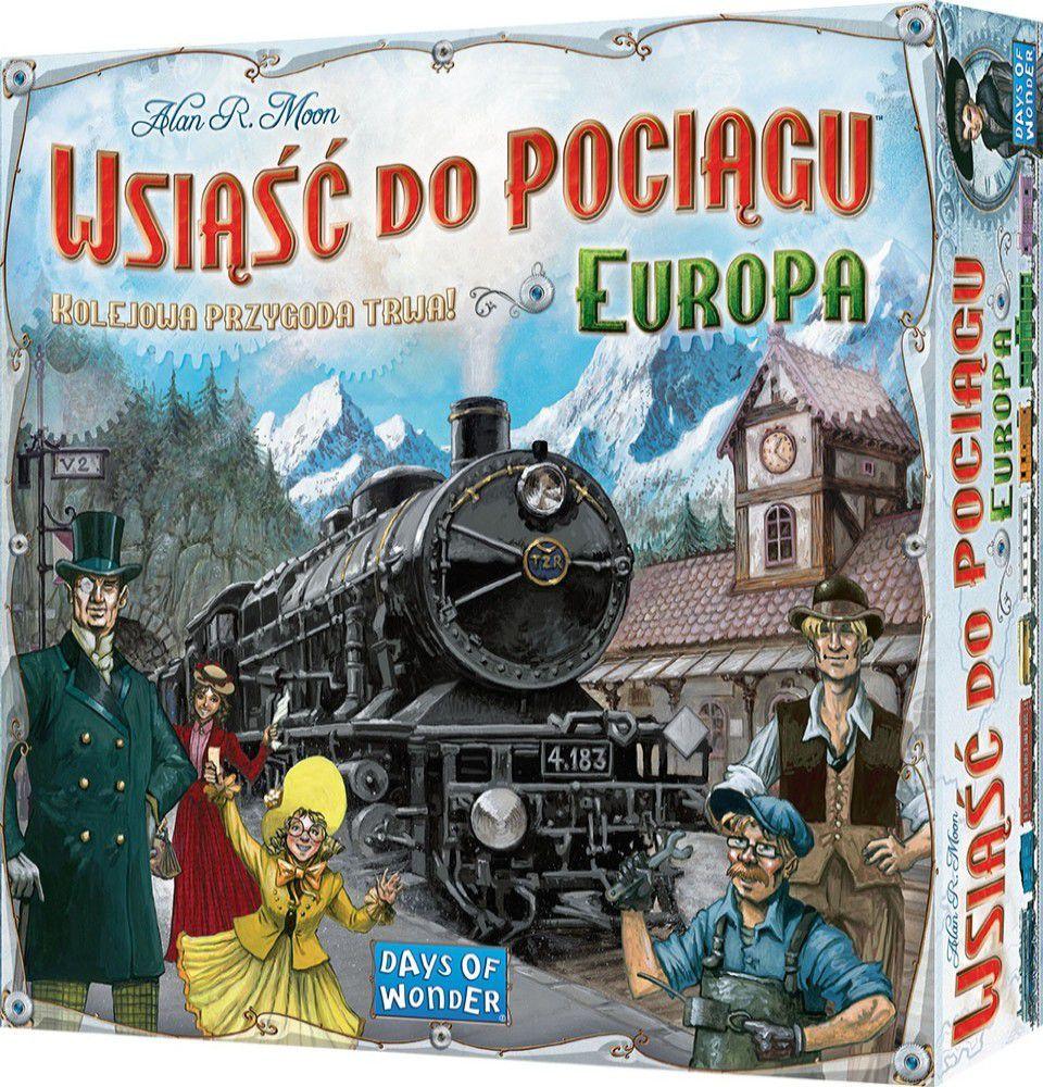 Rebel Gra planszowa Wsiąść do Pociągu: Europa (9665) 1