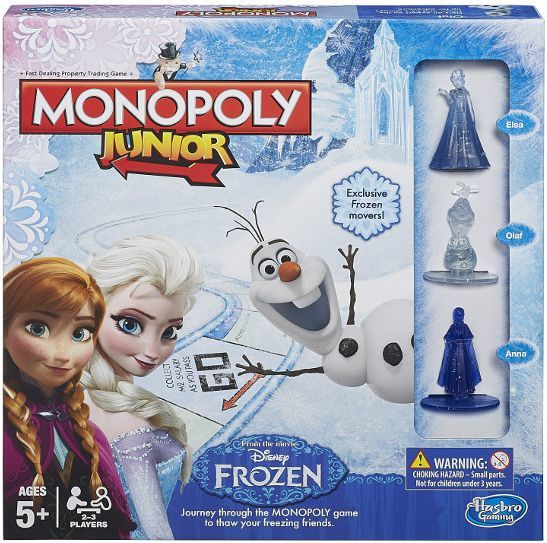 Hasbro Monopoly Junior Frozen edition (B22471200) 1