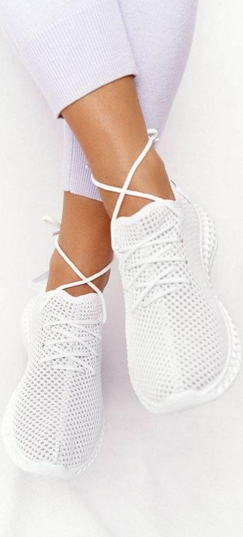PS1 Damskie Sportowe Buty Slip-on Białe Run Away 36 1
