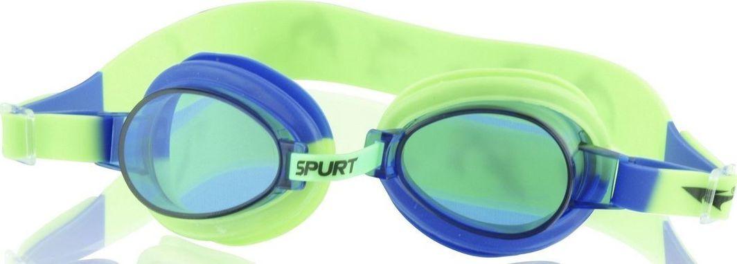 Nils Aqua Okularki Pływackie 1122 AF Niebiesko-zielone  1